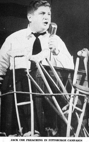 Jack Coe Preaching